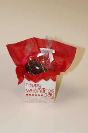 Valentine's Gift with Cinnamon Bears and Malt Balls